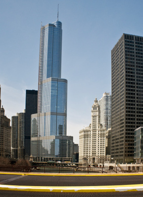Downtown Chicago's Trump Tower