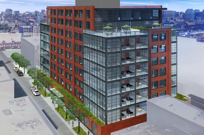 An updated look at the west loop condos proposed near the new mcdonald s headquarters - Mcdonald corporate office ...