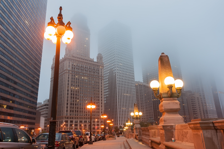 city of chicago to install new led street lights