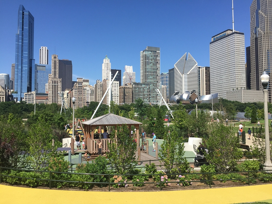 Look Images Of The New Maggie Daley Park In The Loop