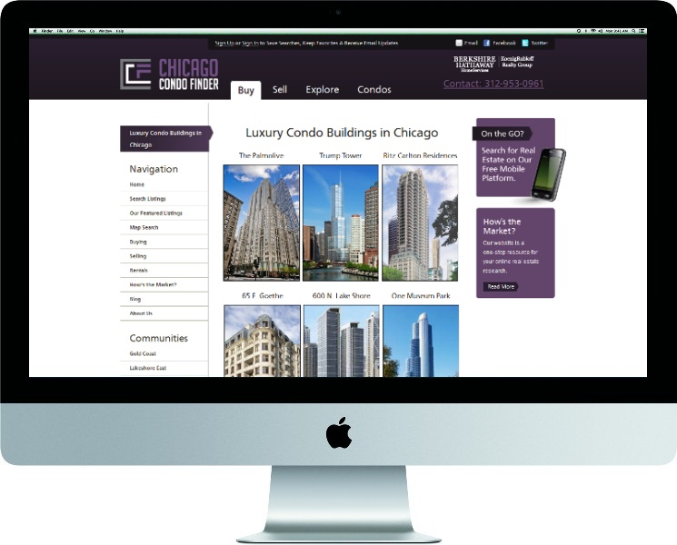 Luxury Chicago Condo Building Directory